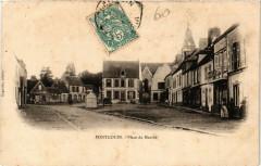 Pontgouin - Place du Marché - Pontgouin