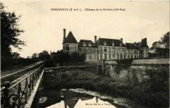 Pontgouin - Chateau de la Riviere - cote Sud - Pontgouin