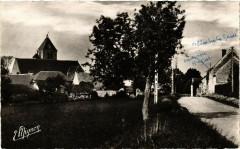 Guainville - Entrée du Village - Route d'Ivry-la-Bataille - Guainville