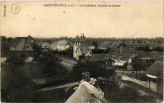 Crecy-Couve - Crécy-Couvé - La Grande-Rue - vue prise du Clocher - Crécy-Couvé