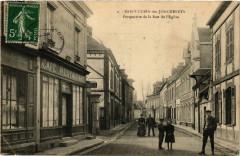 Saint-Lubin des Joncherets - Perspective de de la Rue de l'Eglise - Saint-Lubin-des-Joncherets