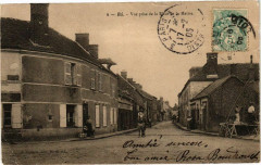 Bu-Vue prise de la Place de la Mairie - Bû