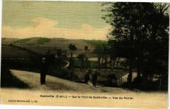 Guainville-Sur le Pont de Guainville-Vue du Poirier - Guainville
