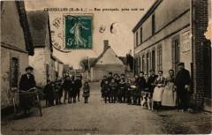 Croisilles-Rue principale prise cote est - Croisilles