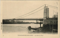 Villefranche-sur-Cher-Le Pont du Cher - Villefranche-sur-Cher