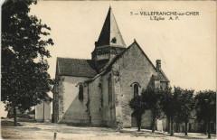 Villefranche-sur-Cher-L'Eglise - Villefranche-sur-Cher
