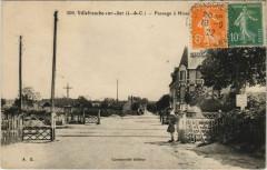 Villefranche-sur-Cher-Passage a Niveau Gare - Villefranche-sur-Cher