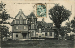 Nouan-le-Fuzelier - Chateau de vieux Nancay facade principale - Nouan-le-Fuzelier
