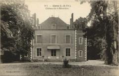 Gievres - Chateau de la Genetiere - Gièvres