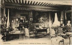 Talcy - Interieur de Chateau - Le Salon - Talcy