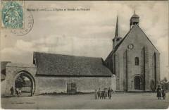 Moisy - L'Eglise et Entrée du Prieure - Moisy