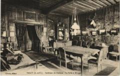 Talcy - Interieur de Chateau - La Salle a Manger - Talcy