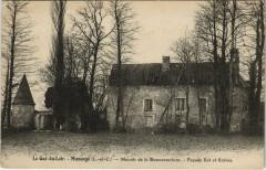 Mazange - Manoir de la Bonnaventure - Facade Est et Entrée - Mazangé
