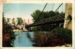 Villefranche-sur-Cher (L.-et-Ch.) - Le Pont sur le Cher - Villefranche-sur-Cher