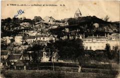 Troo (L.-et-C.) - Le Rocher et le Chateau - Troo