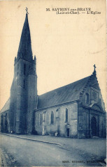 Savigny-sur-Braye (Loir-et-Cher) - L'Eglise - Savigny-sur-Braye