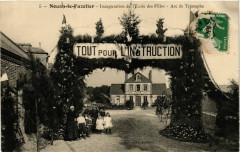 Nouan le Fuzelier - Inauguration del'Ecole des Filles - Nouan-le-Fuzelier