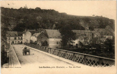 Les Roches Pres Montoire - Vue du Pont - Roches