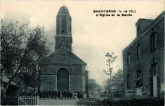Beauchene L'Eglise et la Mairie - Beauchêne
