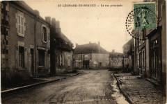 Saint-Leonard-en-Beauce - La rue principale - Saint-Léonard-en-Beauce