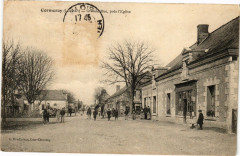 Cormaray (L.-et-C.) - Grand Rue pras l'Eglise - Maray