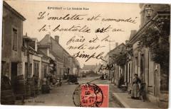 Epuisay - La Grande Rue - Épuisay
