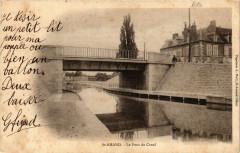 Saint-Amand-Montrond - Le Pont du Canal - Saint-Amand-Montrond