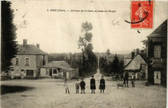 Jars - Avenue de la Gare et Route du Noyer - Jars
