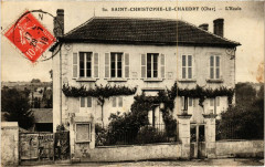 Saint-Christophe-le-Chaudry - L'Ecole - Saint-Christophe-le-Chaudry