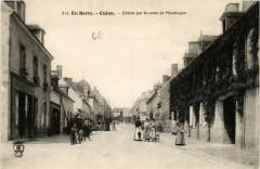 Culan - Entrée par la route de Montlucon - Culan
