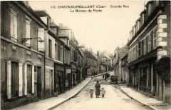 Chateaumeillant - Grande Rue - Le Bureau de Poste - Châteaumeillant