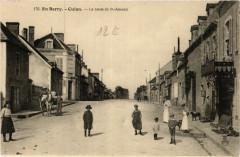 Culan - La Route de St-Amand - Culan