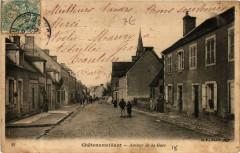 Chateaumeillant Avenue de la Gare - Châteaumeillant