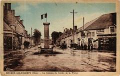 Bruere-Allichamps La Colonne du Centre de la France - Bruère-Allichamps