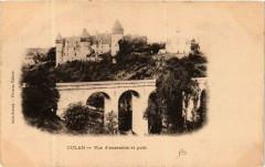 Culan Vue d'ensemble et pont 18 Culan