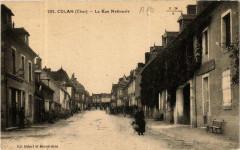 Culan La Rue Nationale 18 Culan