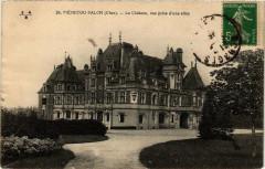 Menetou-Salon Le Chateau, vue prise d'une allée - Menetou-Salon