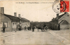 En Berry La Chapelle-Hugon La Route de la Guerche - La Chapelle-Hugon