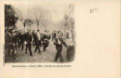 Henrichemont Comice 1902 - Cortege au champ-de-foire - Henrichemont