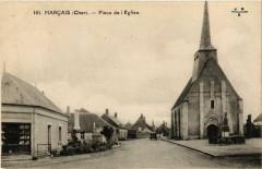 Marcais - Place de Eglise - Marçais