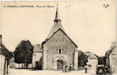 Farges-en-Septaine - Place de Eglise - Farges-en-Septaine
