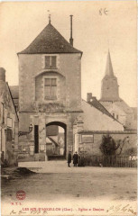 Les Aix-D'Angillon Eglise et Donjon - Les Aix-d'Angillon
