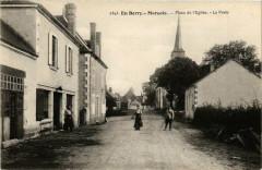 En Berry Marcais Place de Eglise - La Poste - Marçais