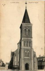 Blet Facade de Eglise - Blet