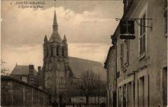 Sainte-Solange Eglise et la Place - Sainte-Solange