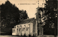 Grossouvre Eglise - Grossouvre