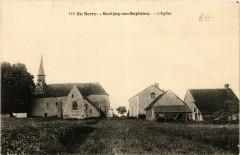 Savigny-en-Septaine - Eglise - Savigny-en-Septaine