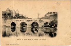 Culan Vieux Pont et Chateau 18 Culan