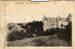Culan Faubourg et Chateau 18 Culan