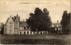 Le Chautay Chateau de Bernay, facade Est - Le Chautay
